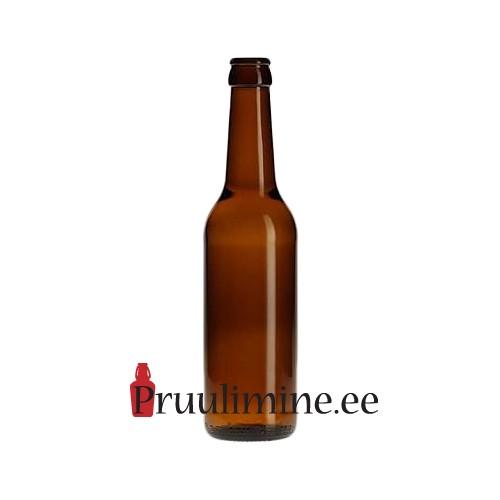 Pudel kroonkorgile 33cl Ale amber, ilma korgita