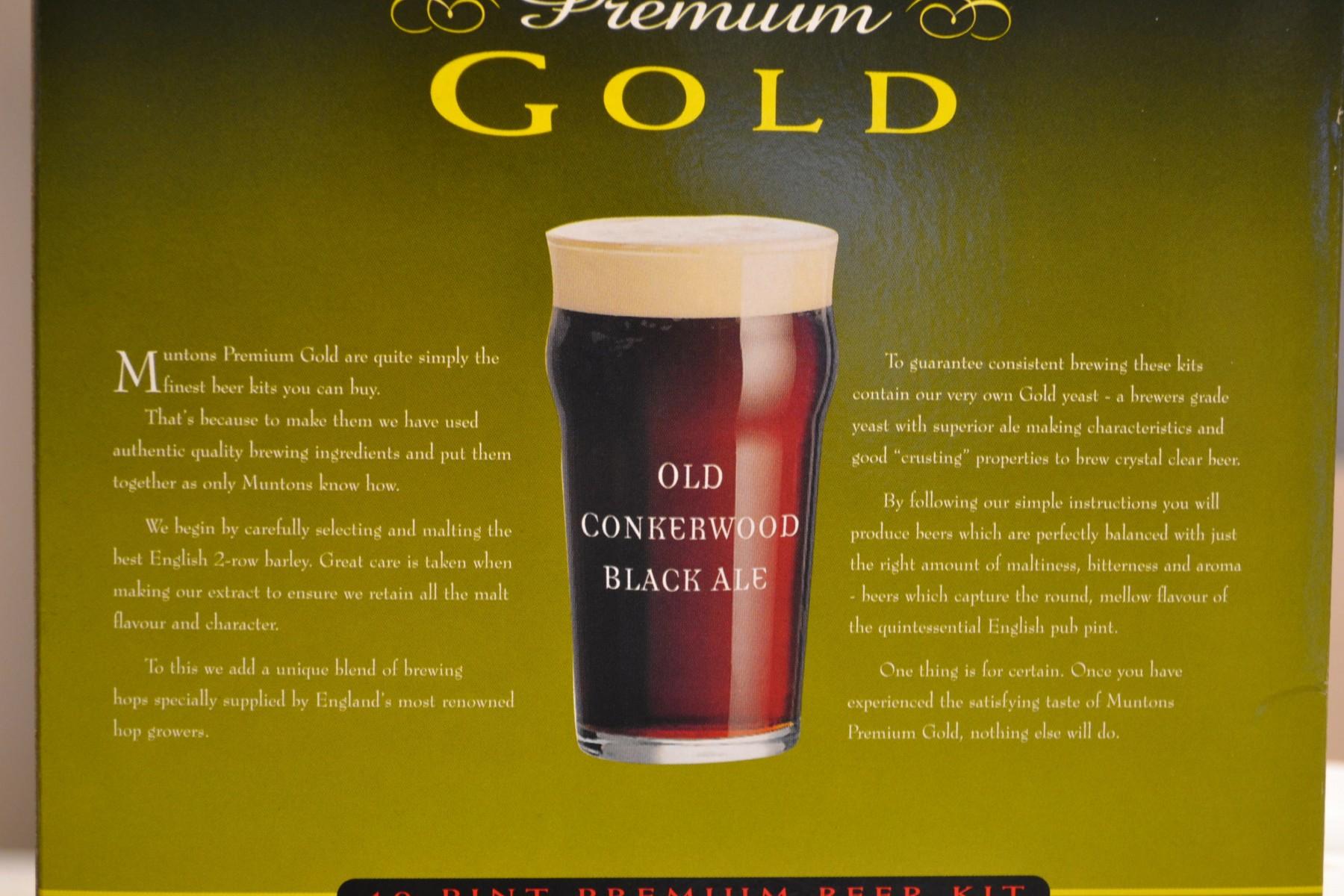 Muntons Old Conkerwood Black Ale 3.6kg
