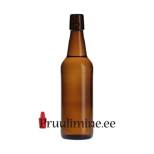 Pudel traatkorgile 0,5l pruun, ilma korgita