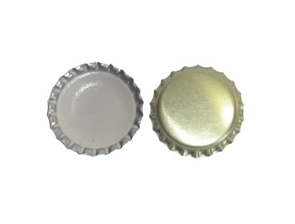Šampanja pudeli kroonkorgid tihendiga, 29mm Kuldne