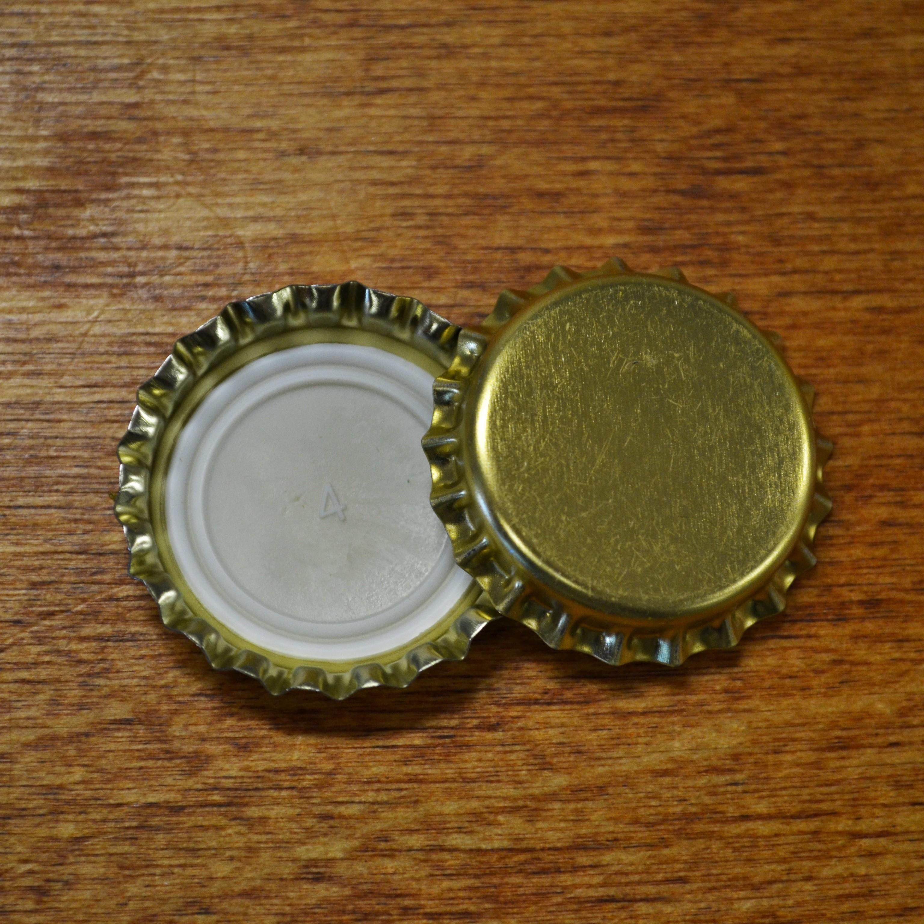 Kuldne kroonkork 26mm