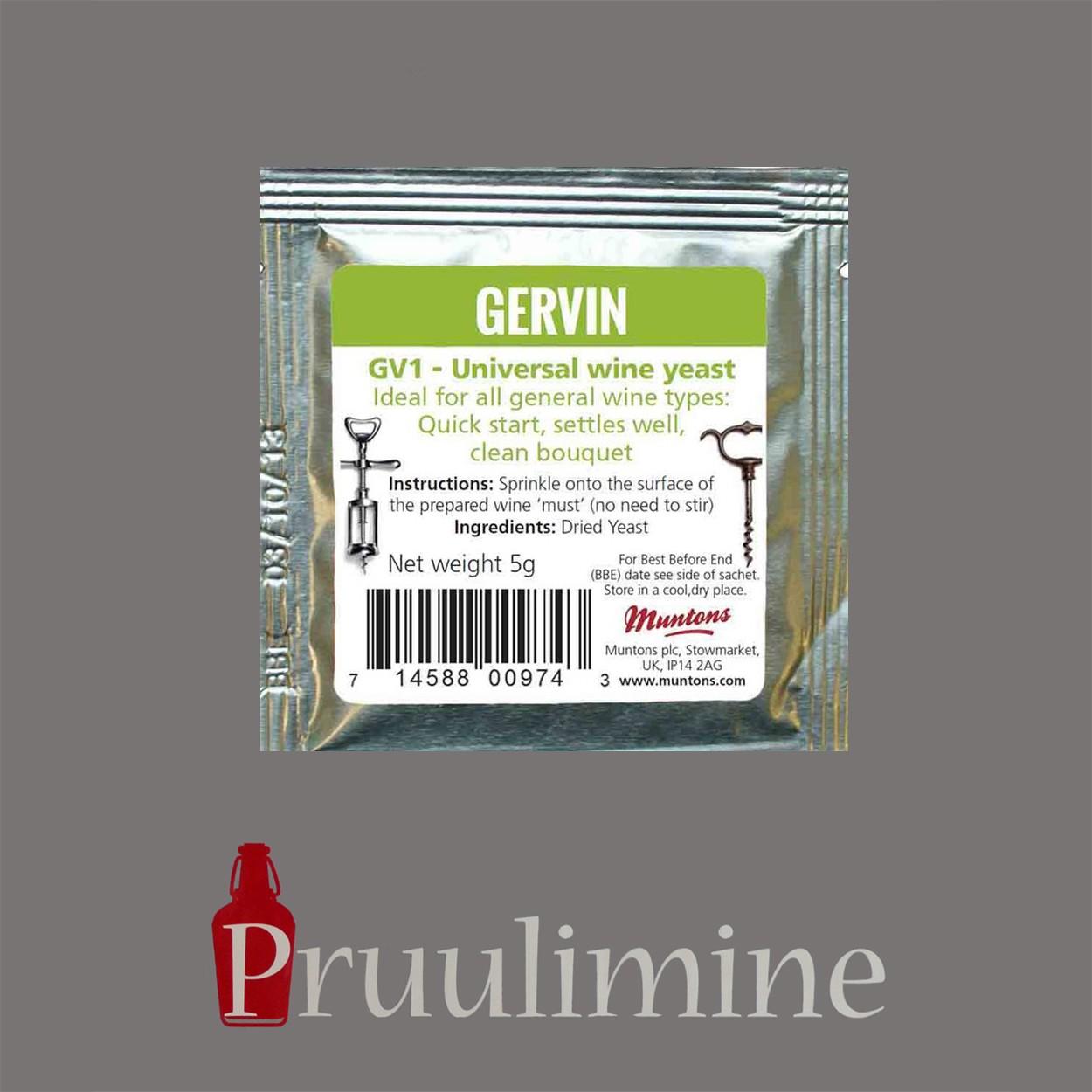 GV1 - Universaalne veinipärm, 5g
