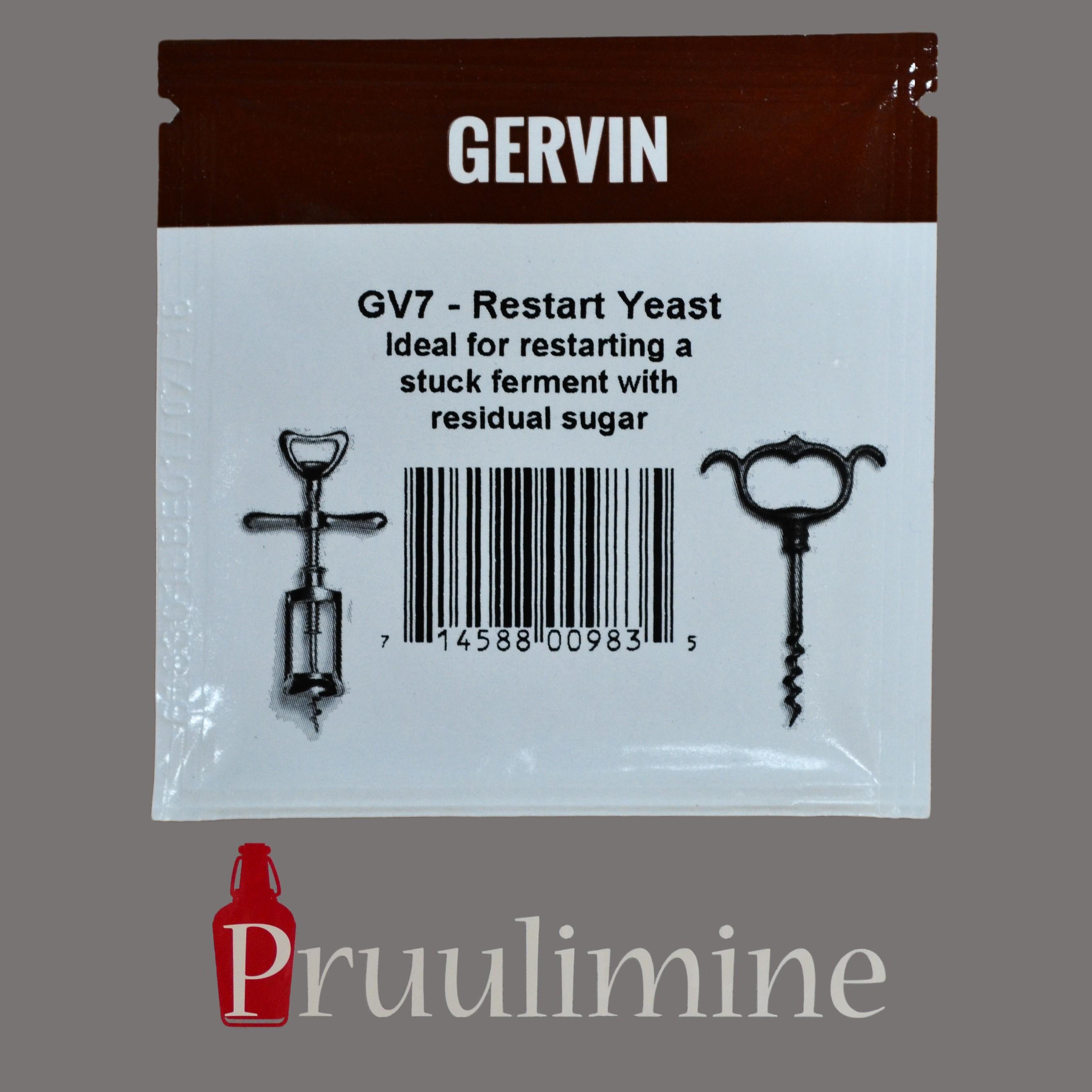 GV7 - Restart yeast