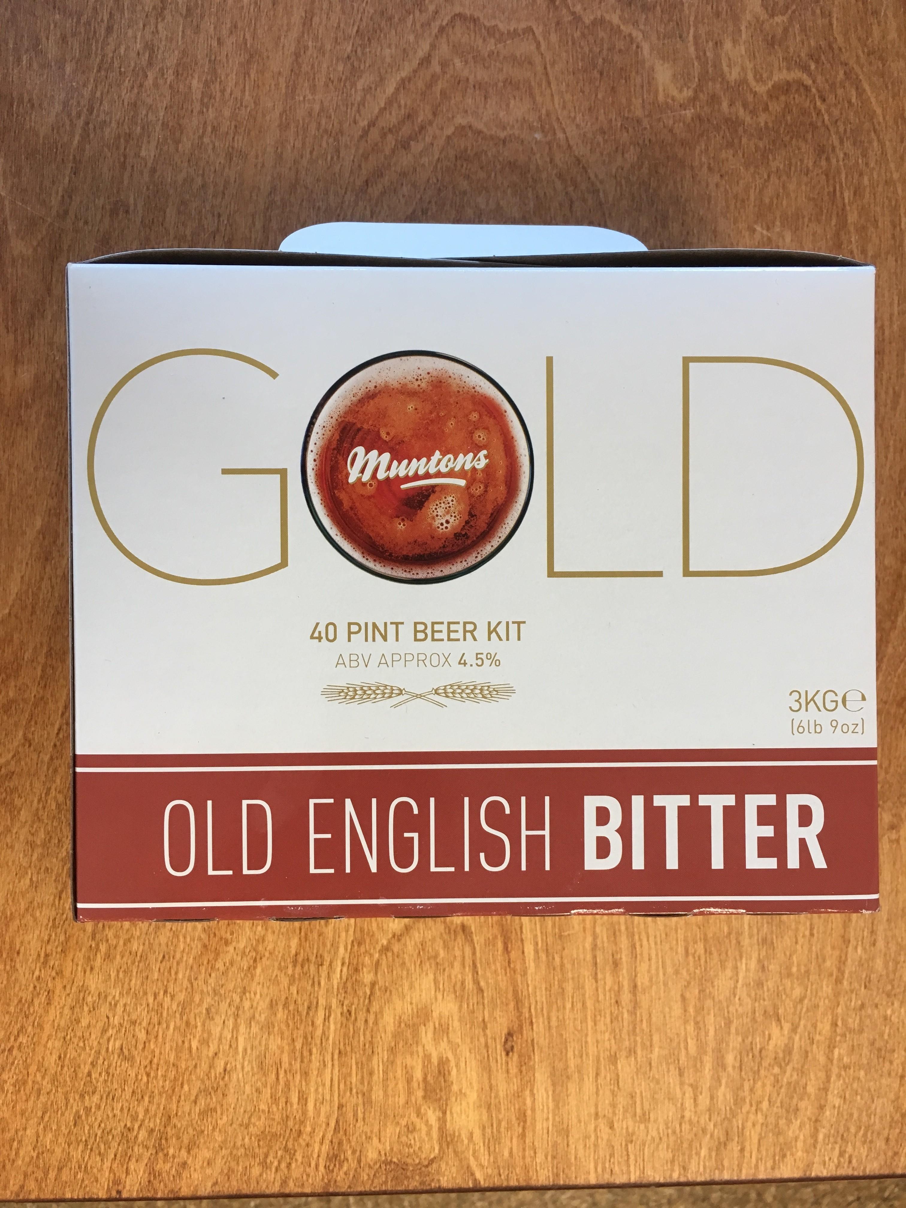 Muntons Gold Old English Bitter 3kg