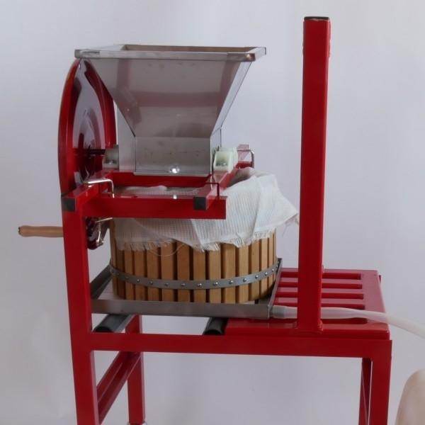 Mahlateo komplekt ratastel viljapurusti ja korvpressiga