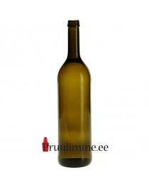 Veinipudel Bordeaux Oliiv 75cl, ilma korgita