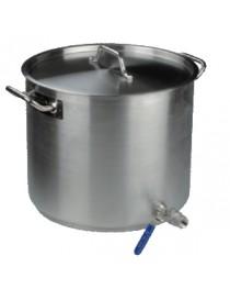 Roostevaba pott kraaniga 30-98l